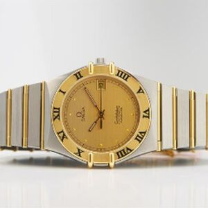 A GENTS OMEGA CONSTELLATION WRISTWATCH
